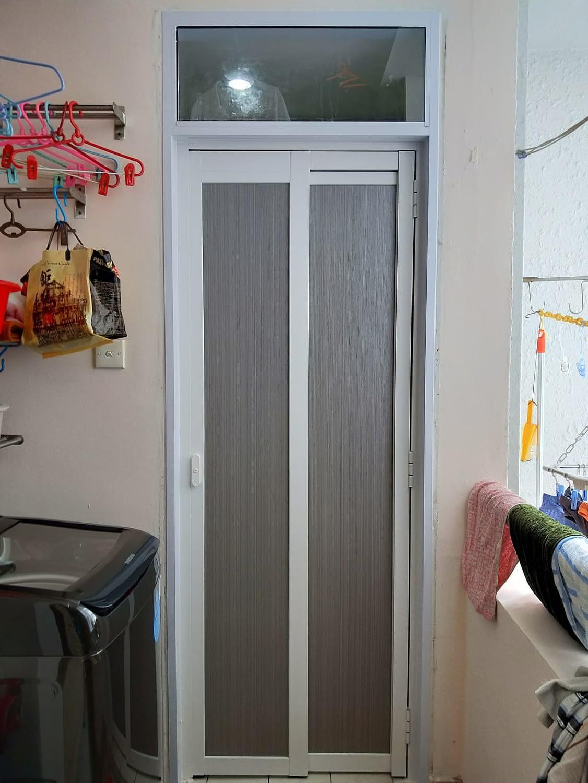 Replace Aluminium Door Frame And Slide And Swing Door At Regent Heights