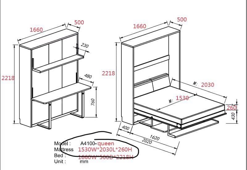 assemble wall bed (2)
