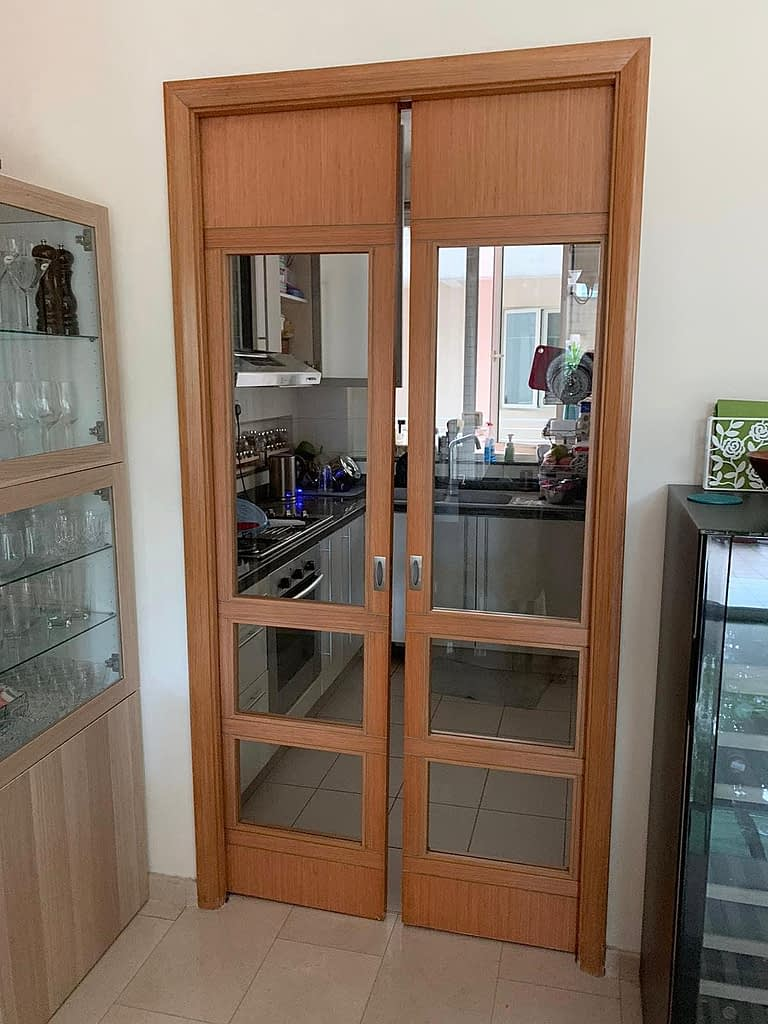 Replace Pocket Door Floor Guide In Mei Hwan Drive