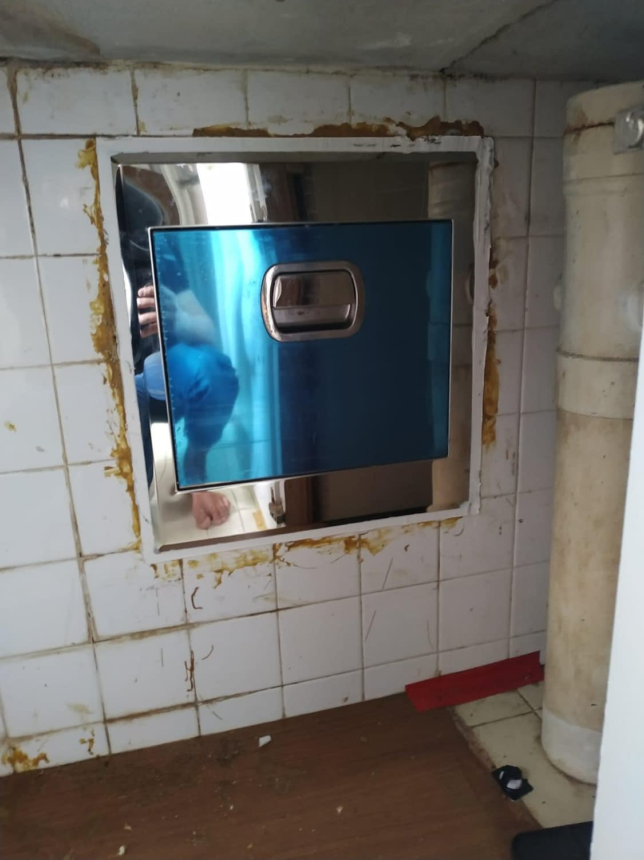 Replace Rubbish Chute In Bishan Street