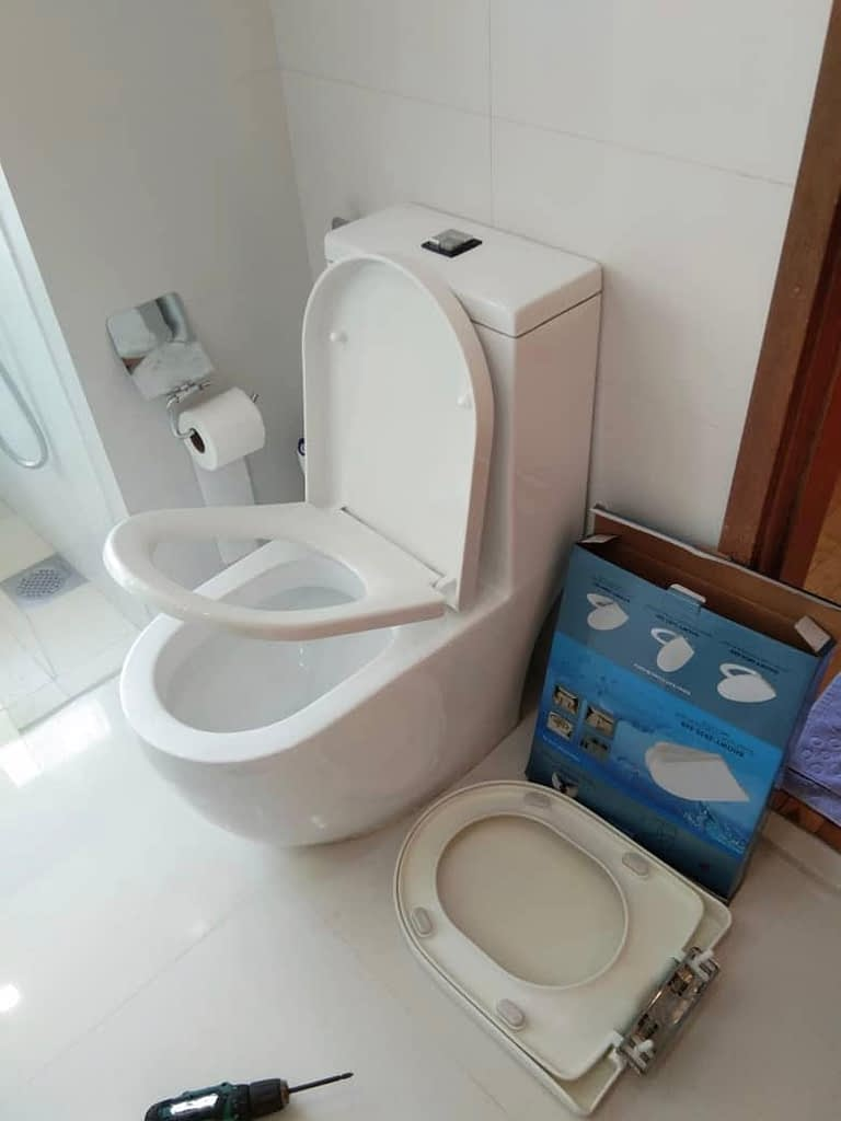 Replace Toilet Seat Cover In Amber Road The Seaview