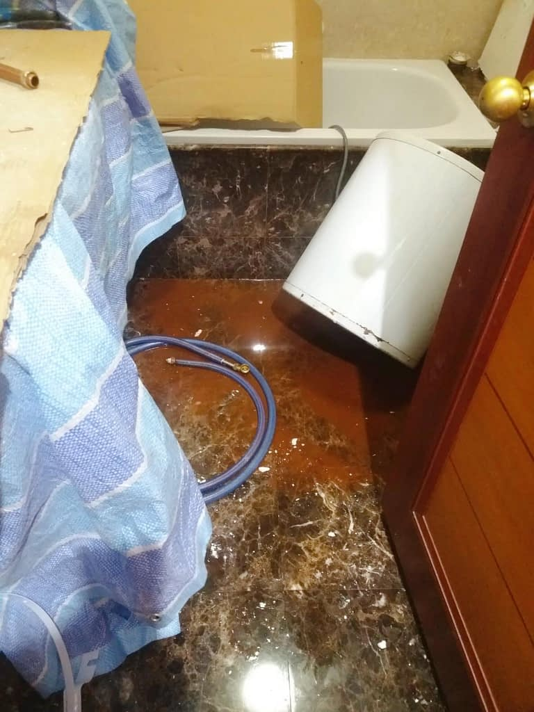 Storage Water Heater Replacement At Yishun Emerald