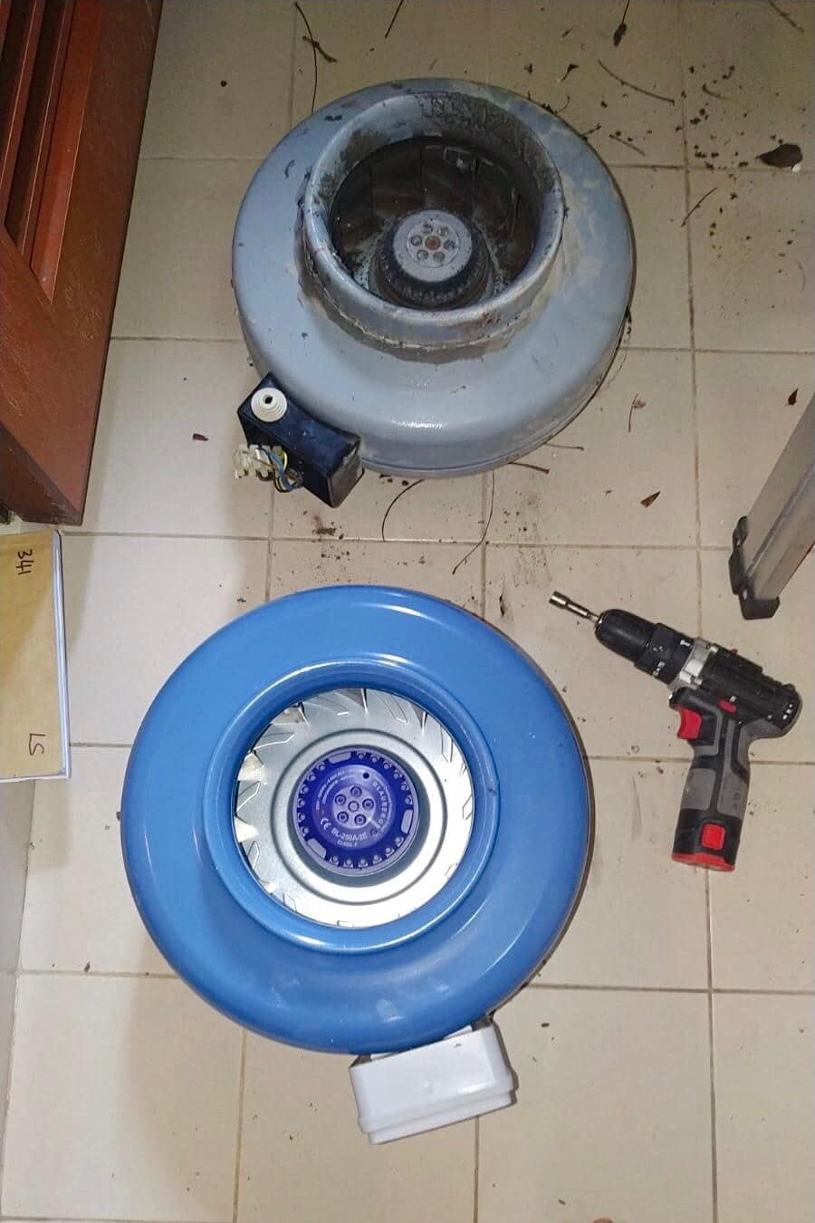 replace exhaust fan (3)