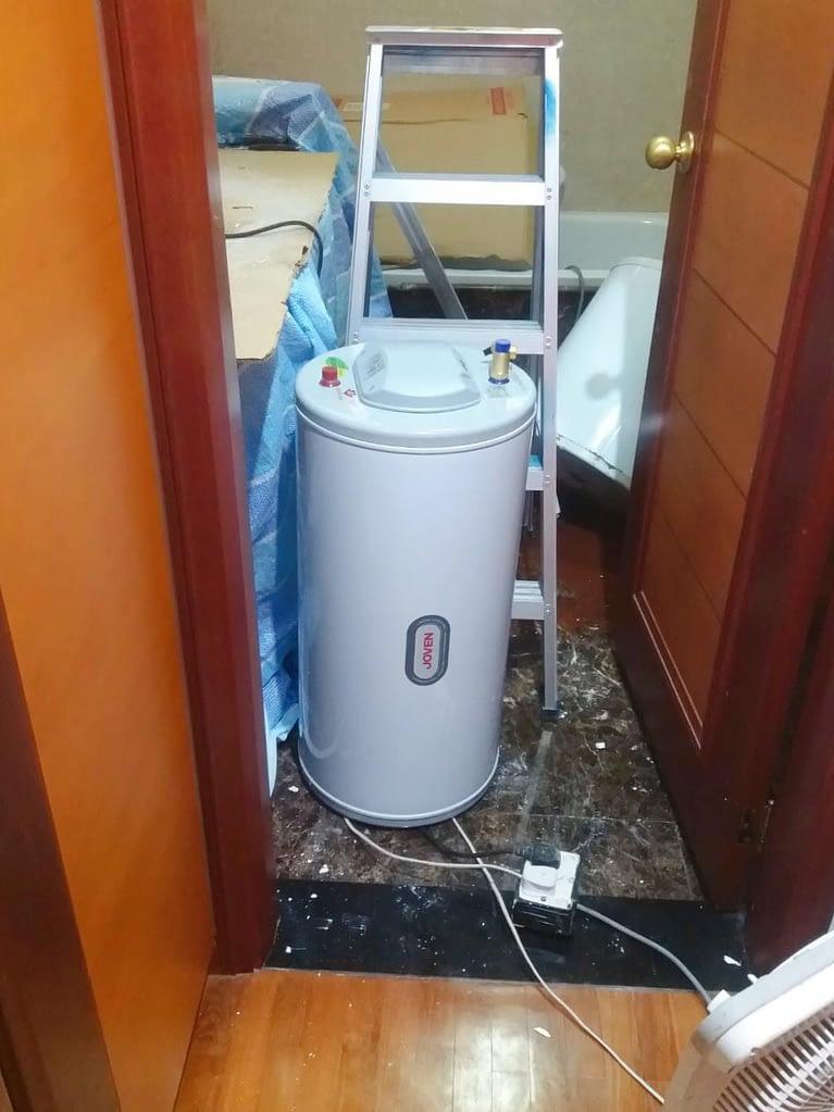 Storage Water Heater Replacement At Yishun Emerald