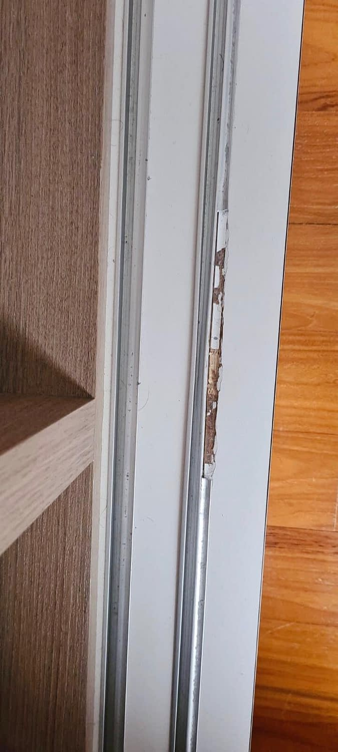 Replace Wardrobe Track